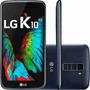 Celular Lg K10 Tv Dual Chip Android 6.0 16gb 4g Cor Indigo