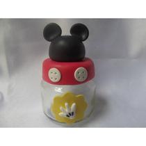 Potinho Mickey Biscuit - Lembrancinha Kit Com 10 Unid.