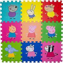 Tapete Eva Infantil Turma Da Peppa Pig