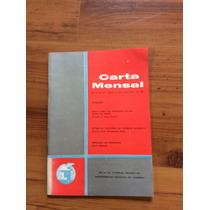 Livro: Carta Mensal- Vida E Obra Do Cientista Sylvio Froes