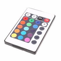 Controle 24 Teclas Para Fita Led Rgb 5050 3528 P/ Reposição