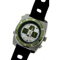 Invicta Men Stainless Steel Diver Swiss Fases Da Lua C/novo