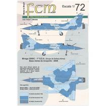 Decal Transfer Plastimodelismo Fcm Mirage 2000c