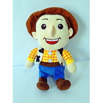 Boneco Pelucia Cowboi Wood Toy Story Musical 25cm
