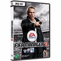 Jogo Fifa Manager 13 Pc - Novo - Original
