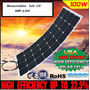 Painel Solar 100w - 12v Flexivel P/ Barco Carro