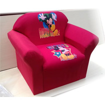 Mini Sofa Infantil Peppa Pig Mickey Mouse Ben Dez
