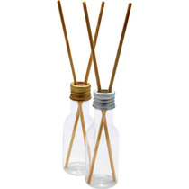 10 Aromatizador Difusor Embalagem Plastica 50ml Com Vareta