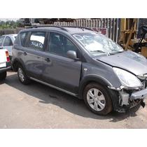 Peças Para Nissan Livina 2011 E X-gear 2012 Sucata Completa