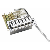 Ponte Sung-il Bs002 Cromada P/ Guitarra Strato 6 Parafusos