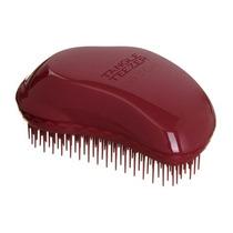 Escova Tipo Tangle Teezer Dark Red Para Cabelo Afro