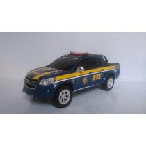 Miniatura De Viatura S10 Policia Rodoviaria Federal