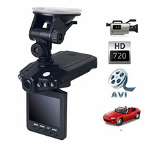 Câmera Hd Vídeo Carro Filmadora Automotiva Tela Lcd