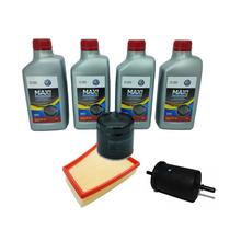 Kit Troca De Oleo Vw + Filtros Castrol 5w40 Gol G5 1.6