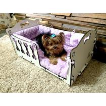Cama Cachorro Pet (barço Dog Elitepet Pequena) Mdf