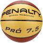 Bola Basquete Penalty Pro 7.5 Couro Oficial Nbb 521145