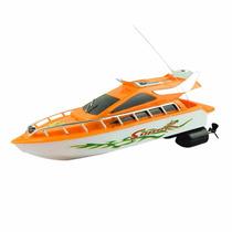 Lancha De Controle Remoto Importado Racing Boat A Pilha