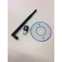Wireless Adaptador 900mbps Sem Fio Lan B/g/n Antena-802