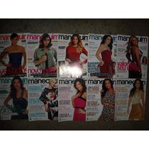Lote Com 10 Revistas Manequim Antigas - Com Moldes - Usadas