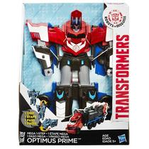 Transformers Robot Indisguise Mega Optimus Prime 29cm Hasbro