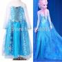 Fantasia Infantil Rainha Elsa Frozen
