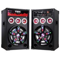 Caixa Amplificada Delta Max Trc 388 Bt, 2x250w + Microfones
