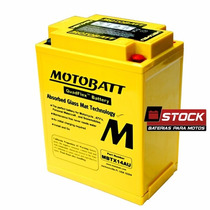 Bateria Gel Motobatt Yb14-a2 Honda Cb750 Cbx750 F 7galo