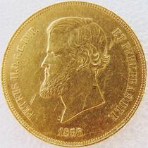 Moeda De Ouro 20000 Reis 1856 17.9 Gr Coleção Objeto Antigo
