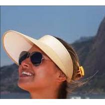 Viseira De Praia Feminino Chapéu Moda Verão