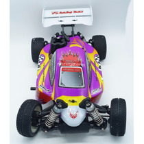 Carro De Controle Remoto A Gasolina New Spirit + Kit Starter