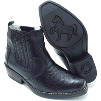 Bota Infantil Stilo Sertanejo Country Kids Numero 23 Ao 36