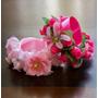 Arranjo Com Flores Para Coque De Ballet Capezio