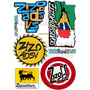 Adesivos Caminhão Qualificado.. Gbn, Rota 262, Reggae, Zizo.