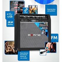Caixa De Som Multiuso Borne V260 Bluetooth 60 W Musical