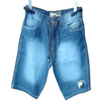 Bermuda Jeans Masculina Tonny Coutry