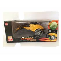 Triciclo Dragon Road - Amarelo - C/ Fricção - Silmar