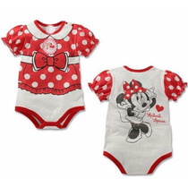 Macacão Fantasia Body Minnie Mouse Disney