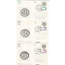 Bilhete Postal- 140 Anos Do Olho De Boi - Rhm - Bp164/65