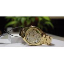 Relógio Dourado Lince Feminino (orient) Lrgk039l Dourado