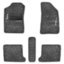 Jogo Tapete Carpete Bordado Gol G5 G6 Rallye Grafite 5 Peças