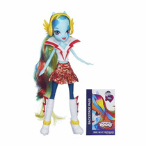 Boneca My Little Pony - Equestria Girls-rainbow Dash -hasbro