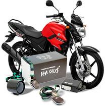Alarme Presença C/ Bloqueador Moto Fazer 150 14/15