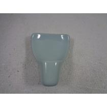 Arandela Luminária De Parede Porcelana Azul Anos 60