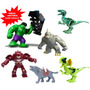 Big Heroes Dinossauros Jurassic World Park Minifigures Bkbbb