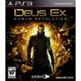 Deus Ex: Human Revolution - Ps3 - Usado - Frete Grátis