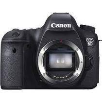 Câmera Fotográfica Canon Eos 6d Com Wifi 20,2 Mp