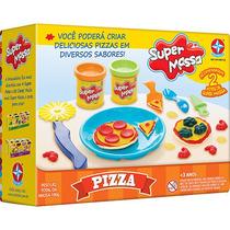 Massinha De Modelar Super Massa Pizza - Estrela