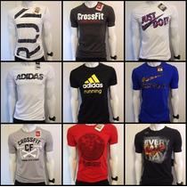 Camiseta Adidas Nike Reebok Crossfit Asics Academia Dry Fit