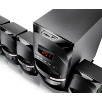 Home Theater 5.1 Multilaser 170w Rms Superwoof Usb Sd Fm 169