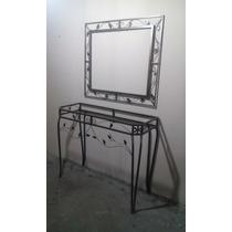 Aparador + Moldura Para Espelho (g) (branco Ou Ouro Velho)